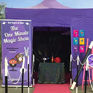 one minute magic show